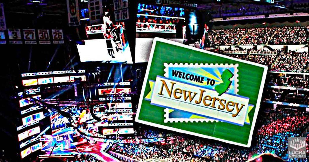 WWE y AEW podría regresar pronto a New Jersey de nuevo