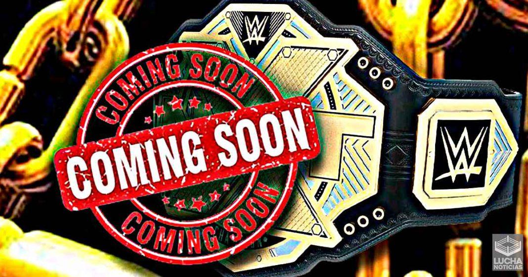 WWE ya fabricado campeonatos para nuevo show de NXT