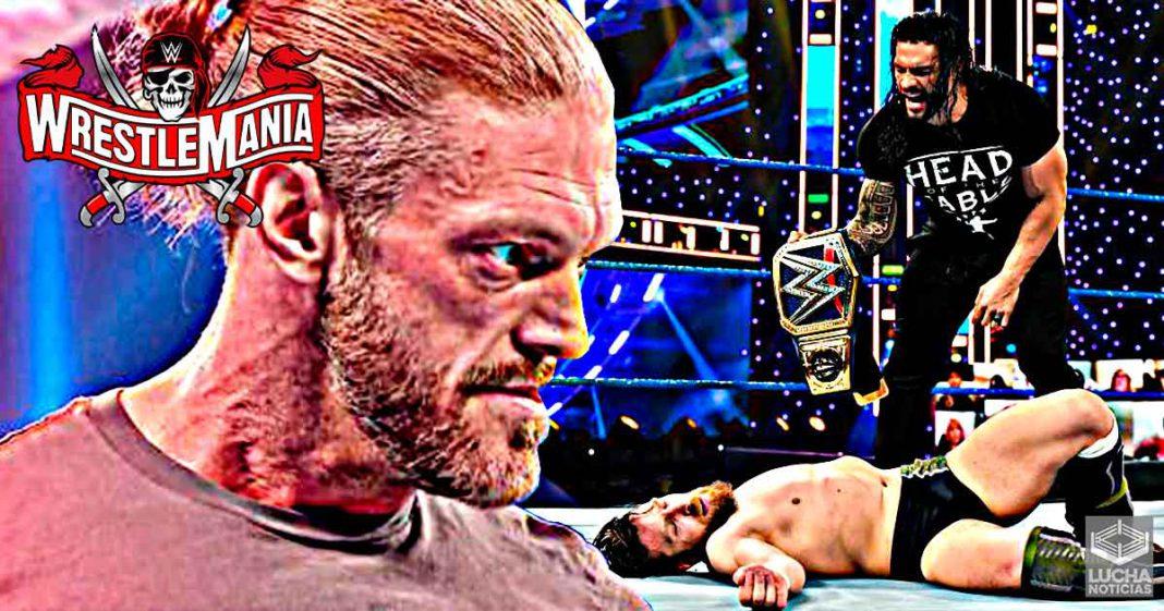 4 situaciones constantes en los planes de WWE WrestleMania 37