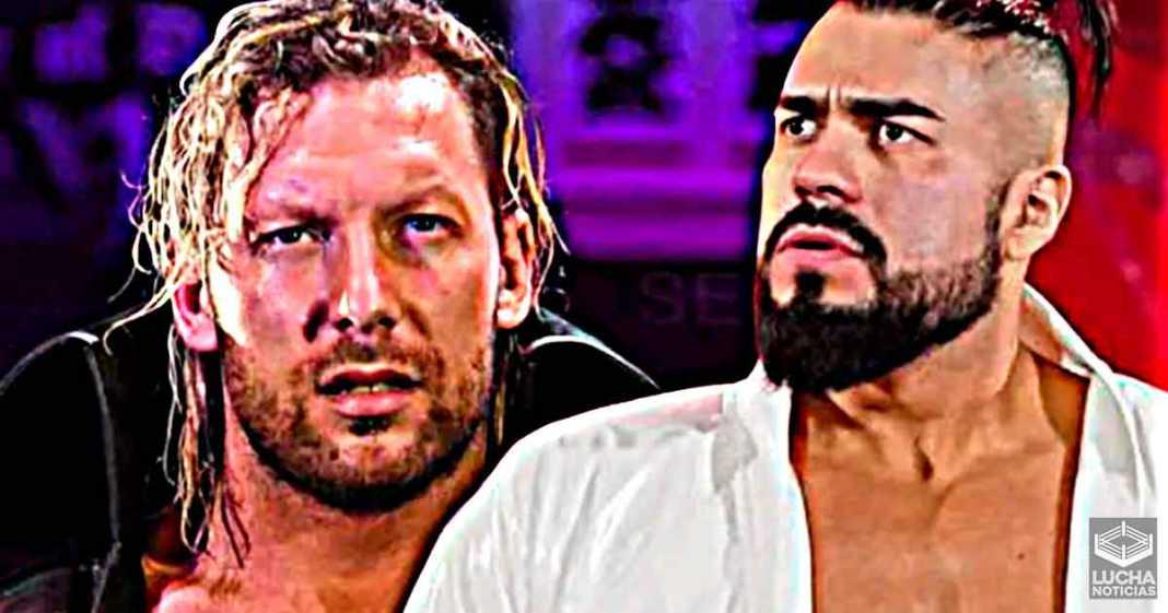 A Andrade le encantaría enfrentar a Kenny Omega