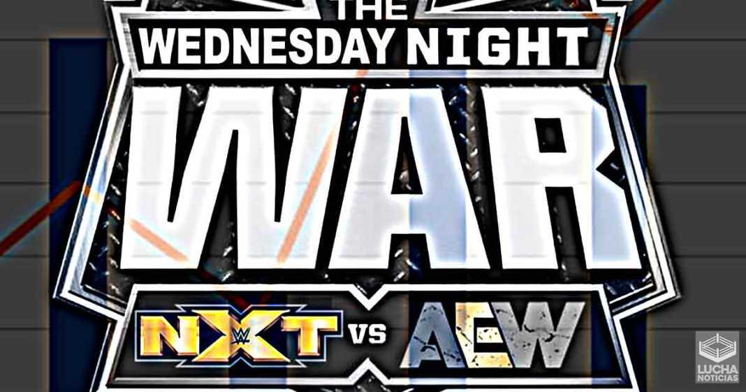 AEW vence a WWE NXT en rating a pesar de un aumento esta semana