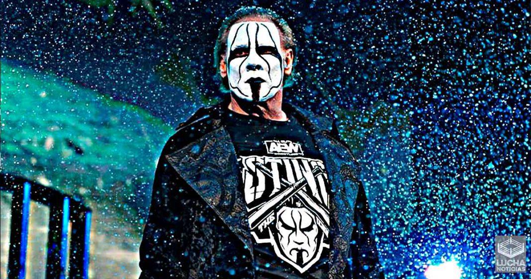 AEW ya grabó la lucha callejera de Sting para Revolution