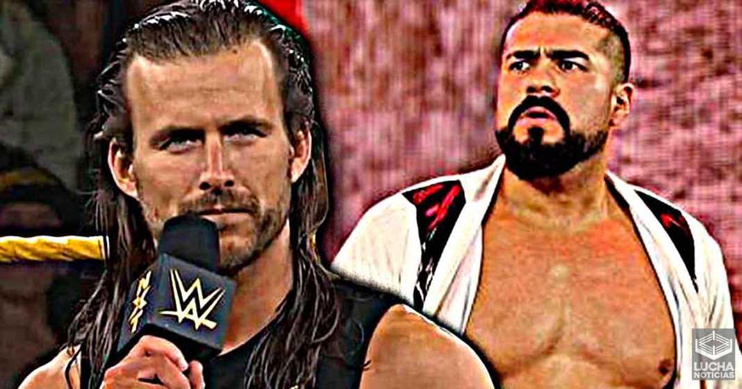 Adam Cole dice que Andrade es uno de los mejores luchadores que han existido