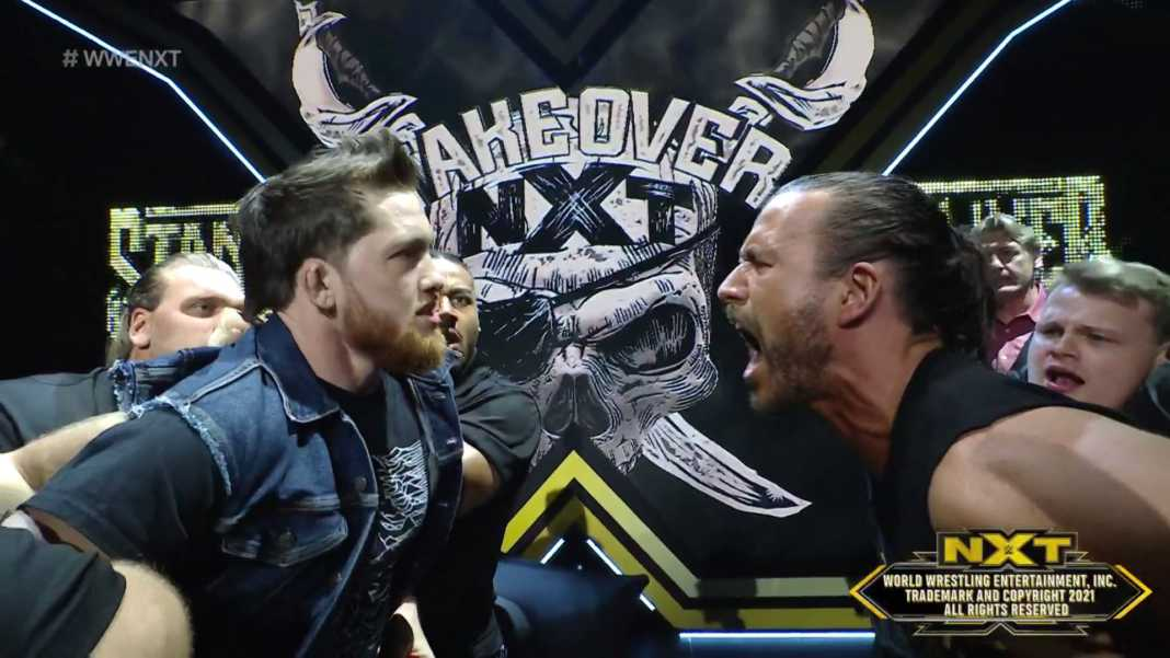 NXT TakeOver: Stand and Deliver — Adam Cole vs. Kyle O'Reilly
