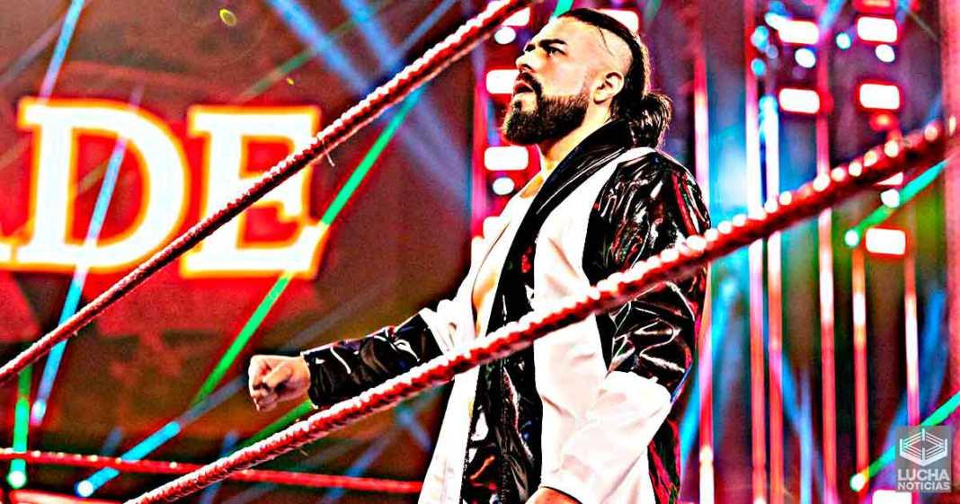 Andrade es despedido de la WWE