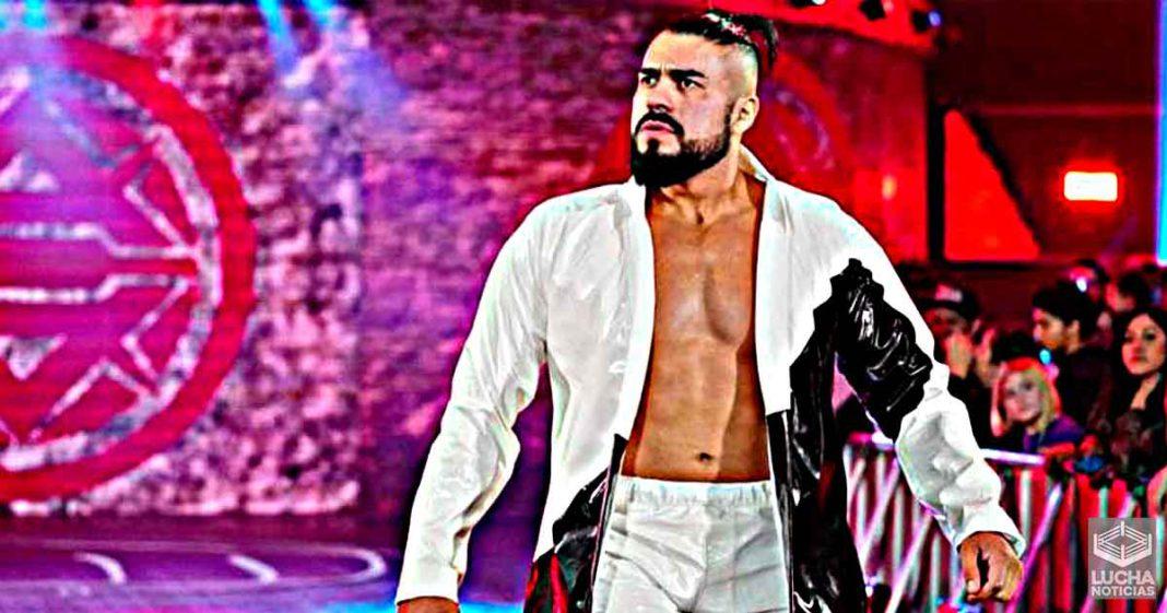 Andrade se sentía absolutamente miserable en el backstage de WWE Raw