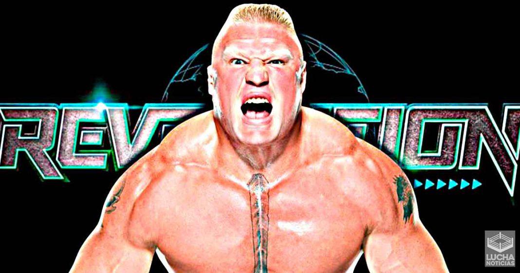 Aparecerá Brock Lesnar en el PPV AEW Revolution