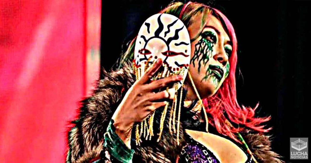 Asuka es dada de alta y estará en WWE RAW