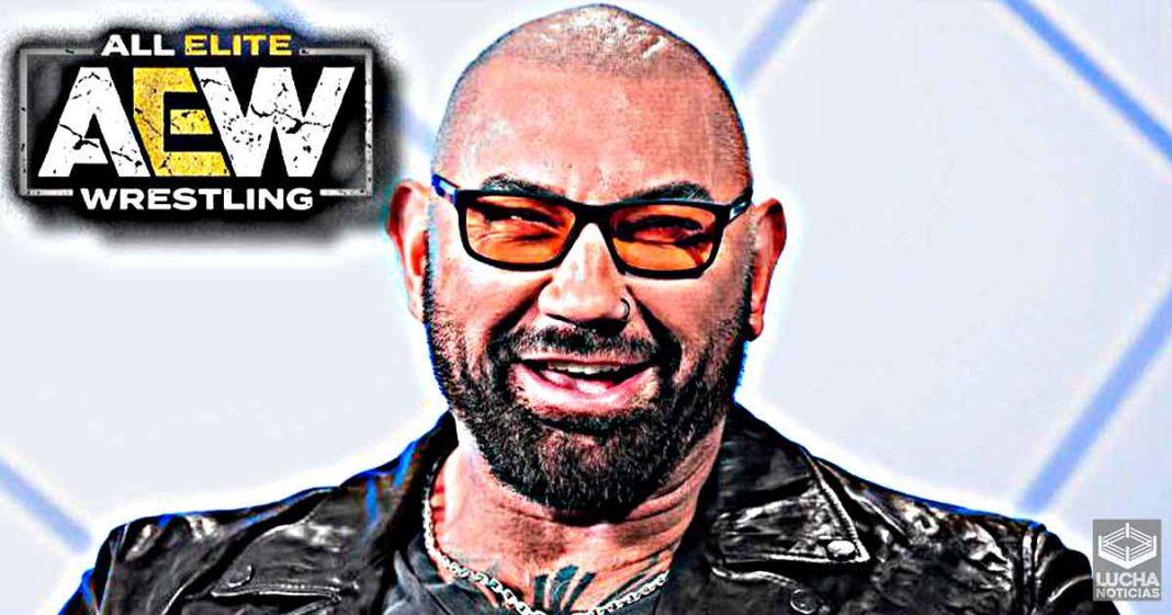 ¿Batista podria aparecer en AEW Revolition?