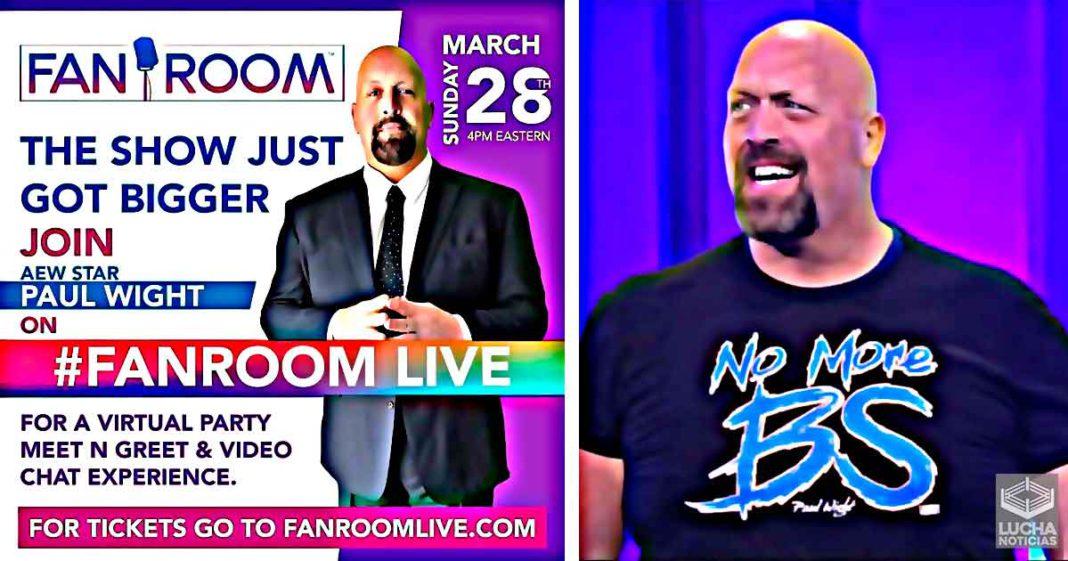 Big Show tendrá su primer Meet & Greet virtual fuera de la WWE - ¡Adquiere ya tu boleto!