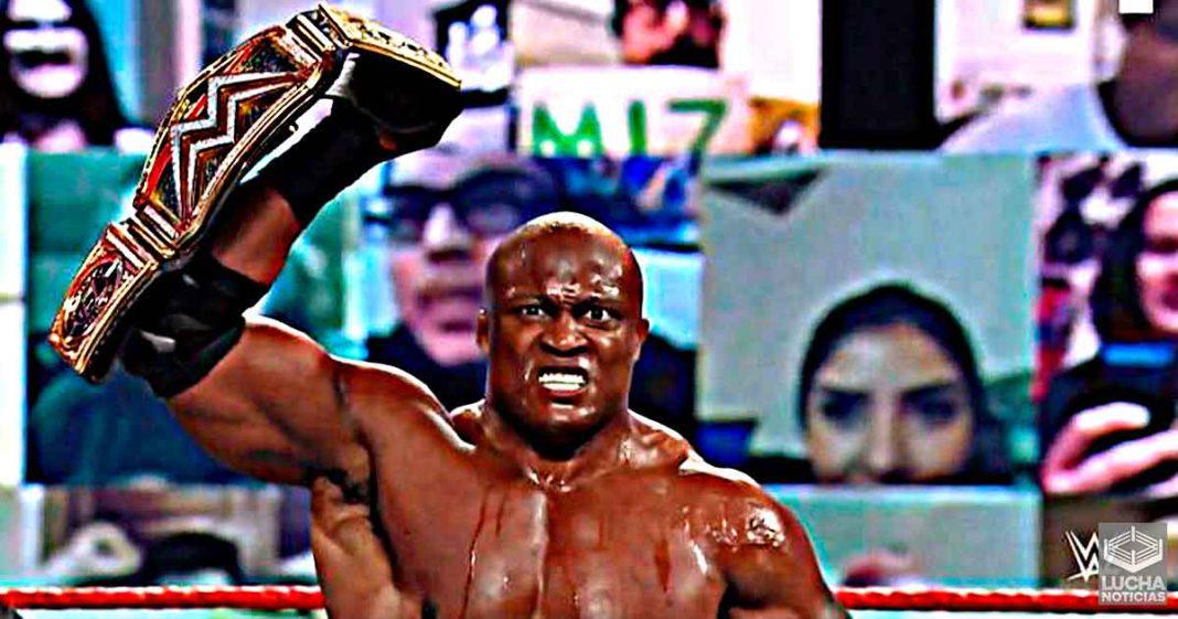 Bobby Lashley destruye a The Miz en su primera defensa de campeonato