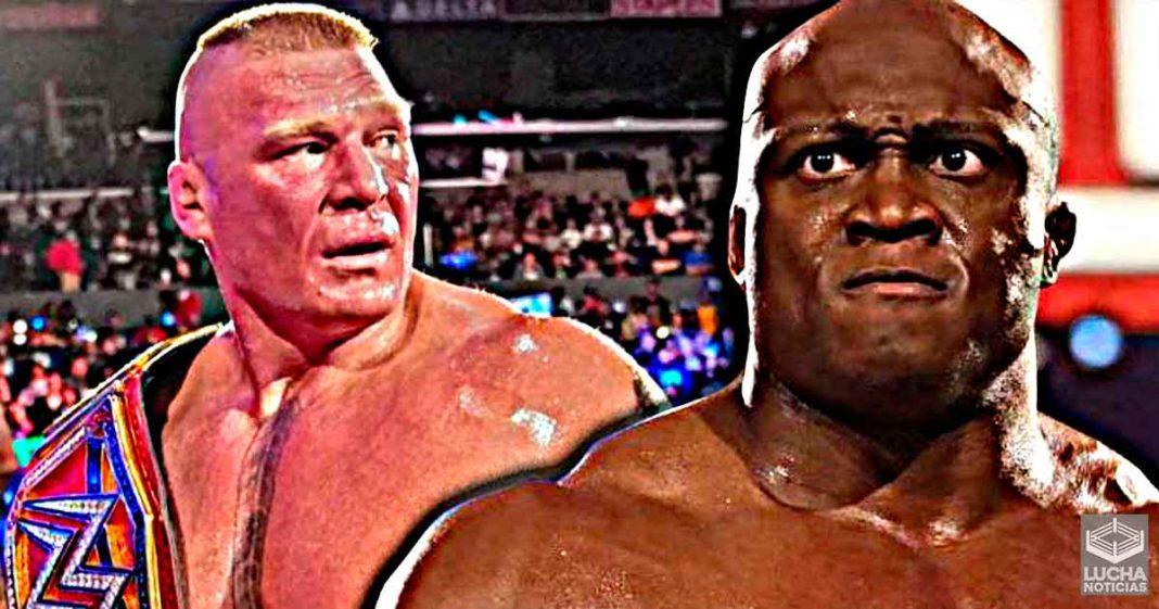 Bobby Lashley habla de una triple amenaza con Brock Lesnar y Drew McIntyre