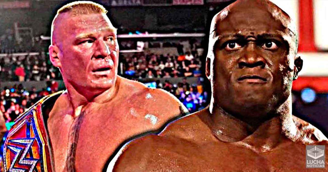 Bobby Lashley quisiera saber donde se encuentra actualmente Brock Lesnar