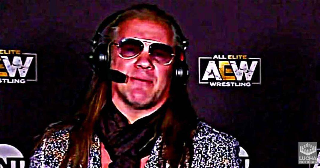Chris Jericho se une al equipo de comentarios de AEW de menera regular