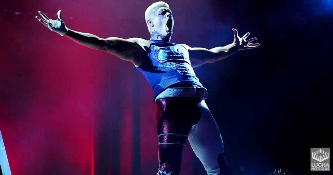 Cody Rhodes: AEW destruyó a NXT por más de un año