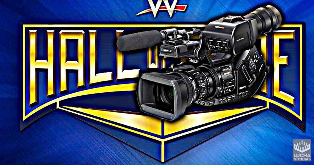 Cómo planea WWE grabar el WWE Hall Of Fame