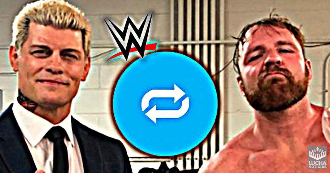 Cuenta oficial de WWE comparte foto de Cody Rhodes y Jon Moxley en AEW