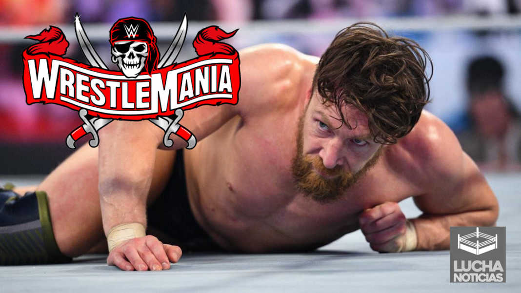 Daniel Bryan en WrestleMania 37