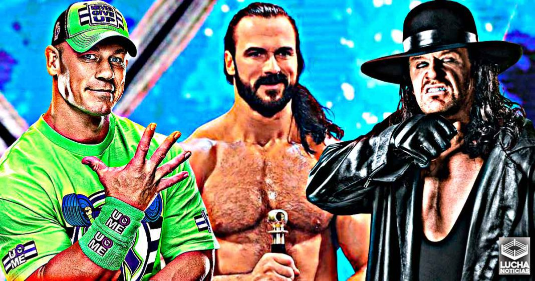 Drew McIntyre iba a enfrentar a John Cena y Undertaker el año pasado