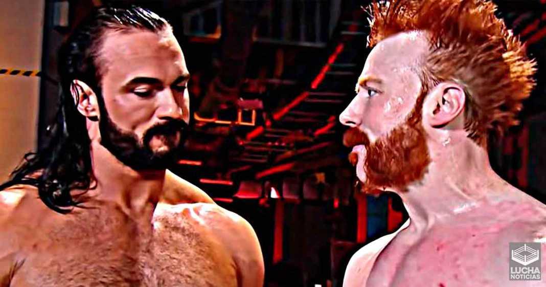 Drew McIntyre se burla de la edad de Sheamus antes de WWE Fastlane