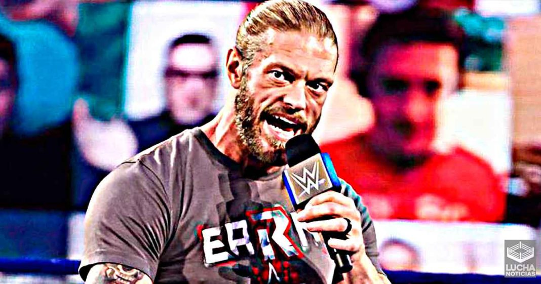 Edge dice que su regreso al ring en SmackDown será un camino dificil
