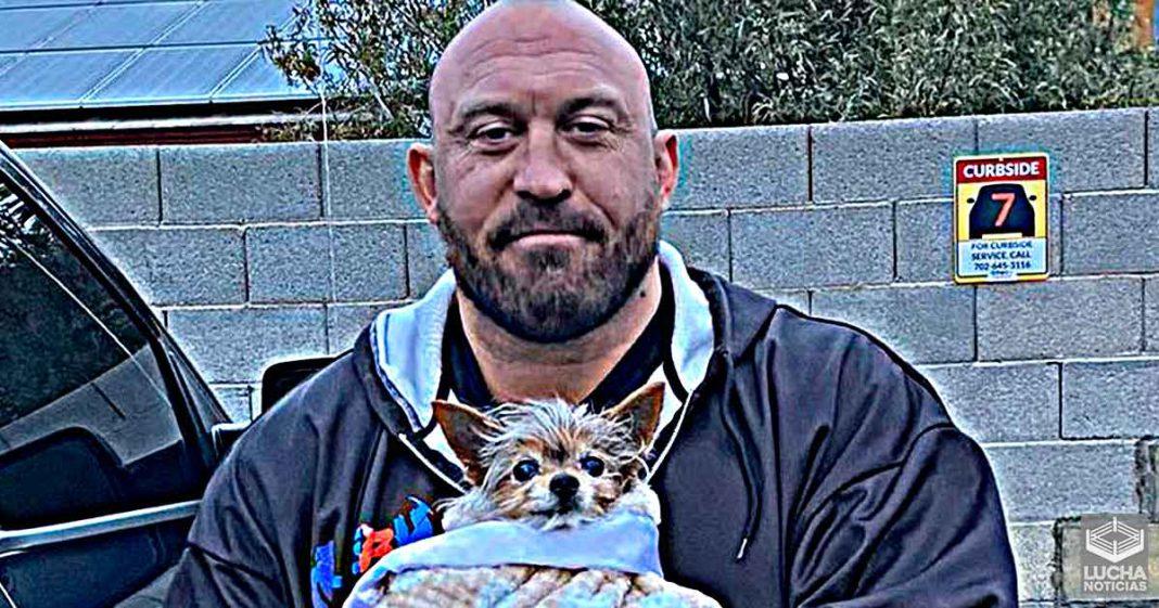 El perro del ex WWE Ryback ha muerto