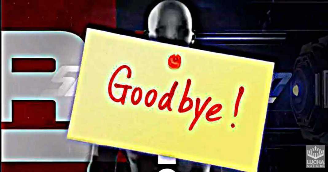 Gran perdida para el equipo creativo de la WWE