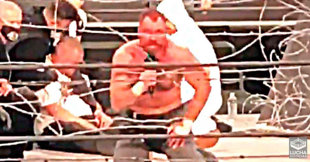 Jon Moxley critica el terrible final del Exploding Death Match en AEW Revolution
