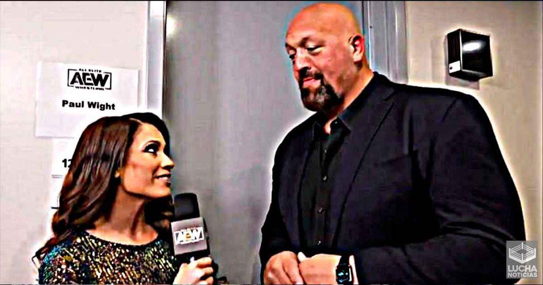 La atmosfera es completamente diferente - Big Show sobre la diferencia entre los vestidores de WWE y AEW