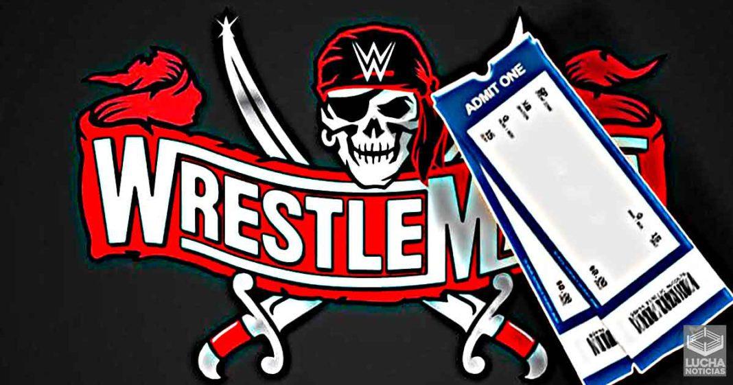 Los boletos para WrestleMania 37 se emperán a vender la próxima semana