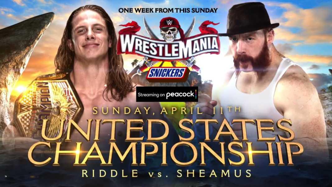 Lucha por el Campeonato de Estados Unidos en WrestleMania 37