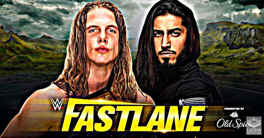 Matt Riddle vs Mustafa Ali en WWE Fastlane 2021
