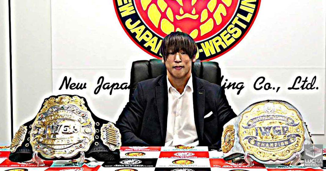 NJPW unificará el campeonato mundial pesado IWGP con el Intercontinental