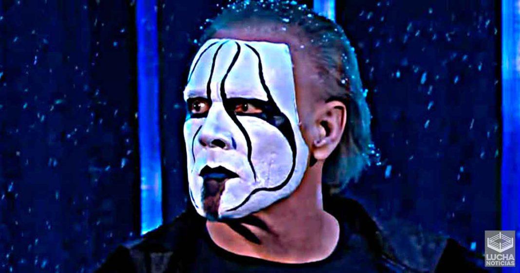 Planes de AEW para el debut de Sting en Revolution