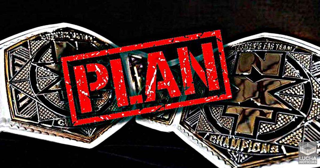 Planes originales para el campeonato femenil de parejas de WWE NXT