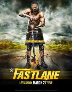 Posible poster promocional de Fastlane 2021