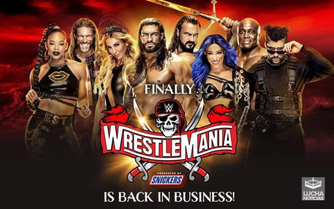 Poster oficial de WrestleMania 37