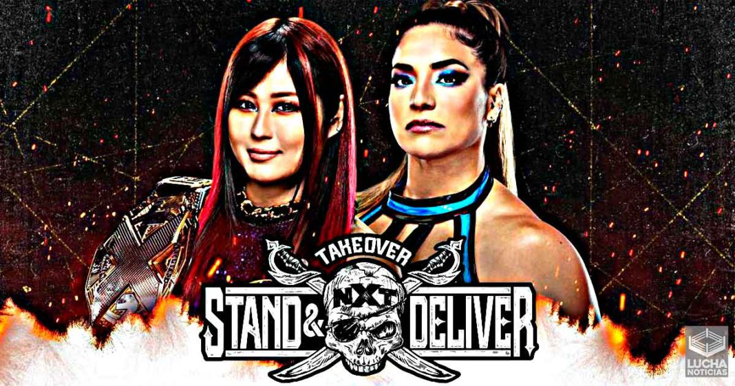 Raque Gonzalez vs Io Shirai NXT TakeOver: Stand and Deliver