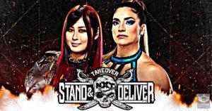 Raque Gonzalez vs Io Shirai NXT TakeOver: Stand and Deliver