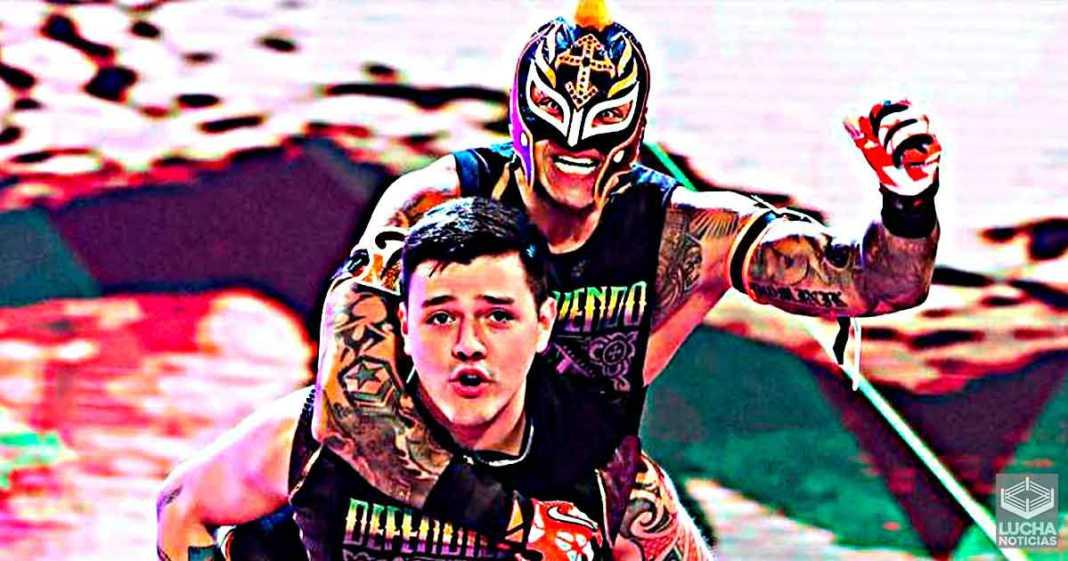 Rey Mysterio dice que ser campeón de parejas con Dominik sería su
