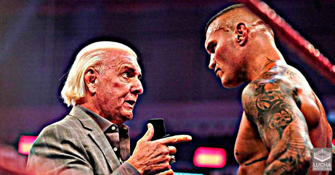 Ric Flair quiere que Randy Orton rompa su racha de victorias