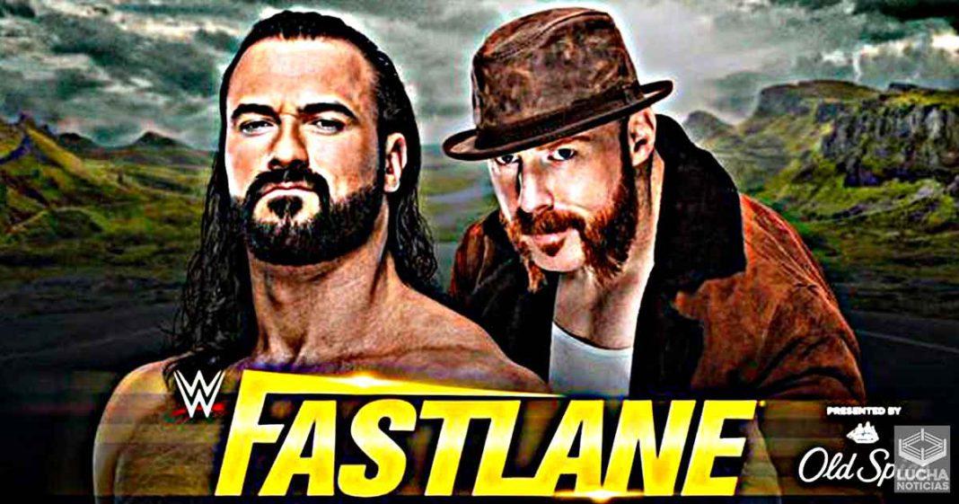 Sheamus vs Drew McIntyre en WWE Fastlane 2021 mano a mano