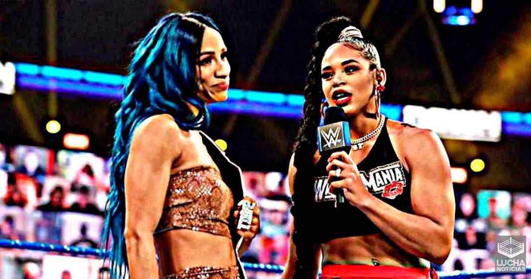 Superestrellas de WWE insisten en que Sasha Banks vs Bianca Belair sea el evento estelar de WrestleMania 37