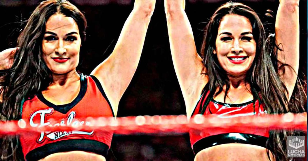 The Bellas Twins están seguras que regresarán a luchar en WWE en 2022