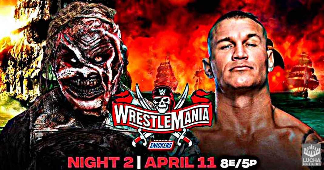 The Fiend vs Randy Orton en WrestleMania 37