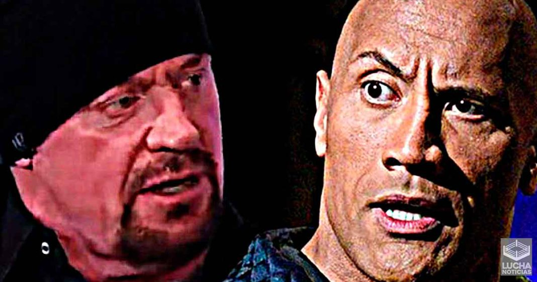 The Rock responde a Undertaker al llamarlo poco relevante en Hollywood