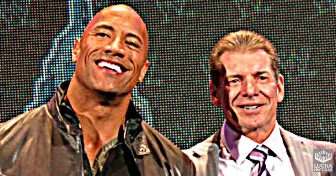 The Rock siempre vio a Vince McMahon como un padre