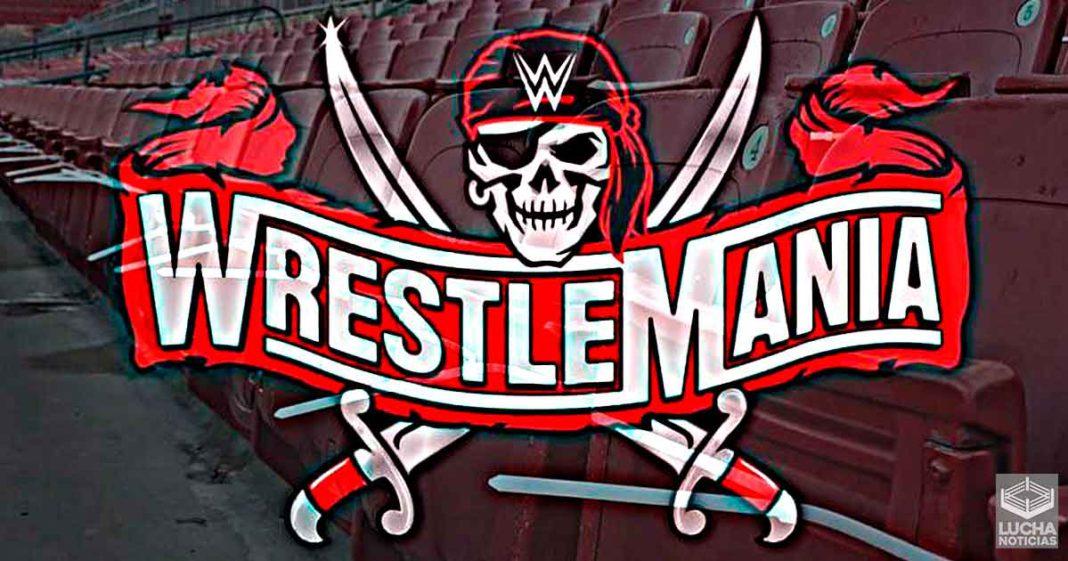 Ticketmaster revela más detalles sobre los lugares para WrestleMania 37