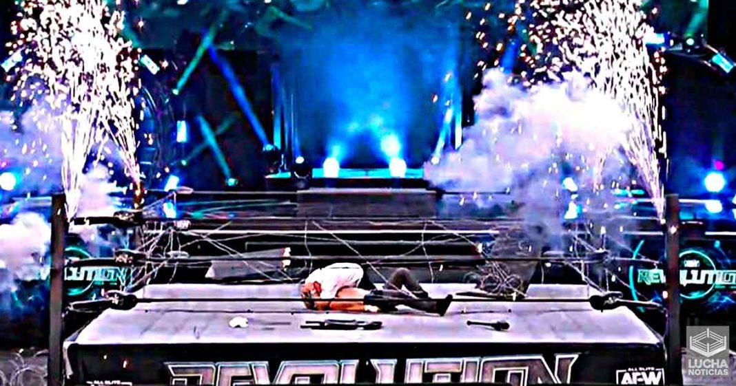 AEW usará la explosión fallida del Barbed Wire Exploding Deathmatch como ángulo