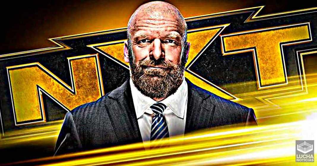 Triple H está muy emocionado con el personaje de luchador de WWE NXT